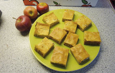 Apfelrahmkuchen mit Guss