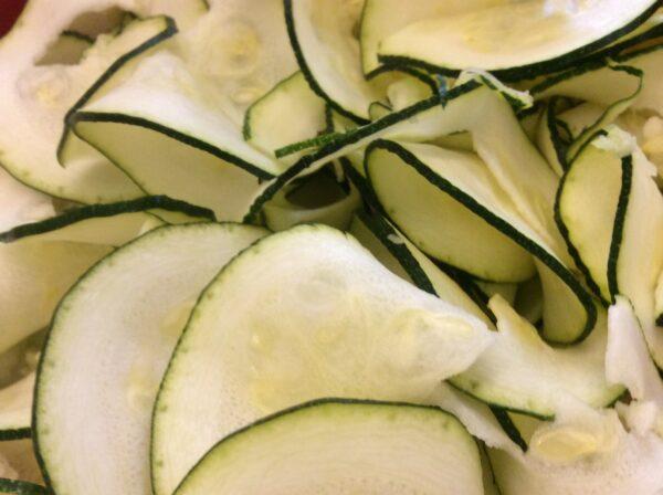 Zucchinibandnudeln