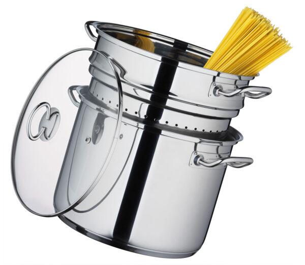 Kochtopf mit Pasta Siebeinsatz San Remo