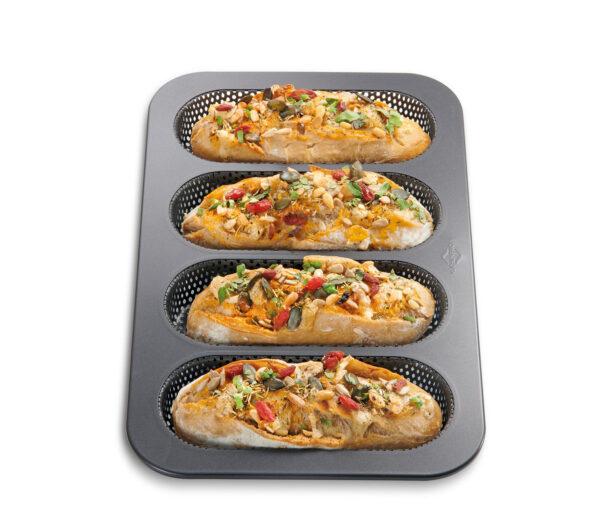 Mini Baguette Form 4er